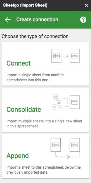 Importe et exporte des feuilles de calcul grâce à l'add-on Google Spreadsheet Sheetgo.
