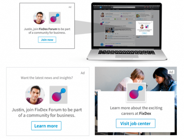 Dynamic Ads LinkedIn