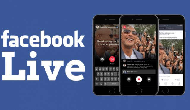 Les vidéos live facebook, pour une plus grande immersion de l'utilisateur.