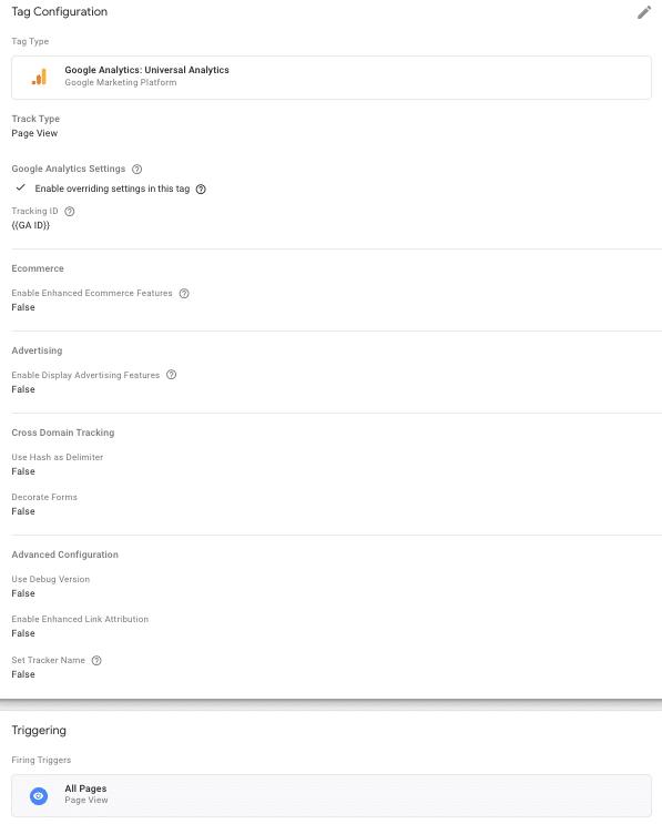 Tag Google Analytics - Google Tag Manager