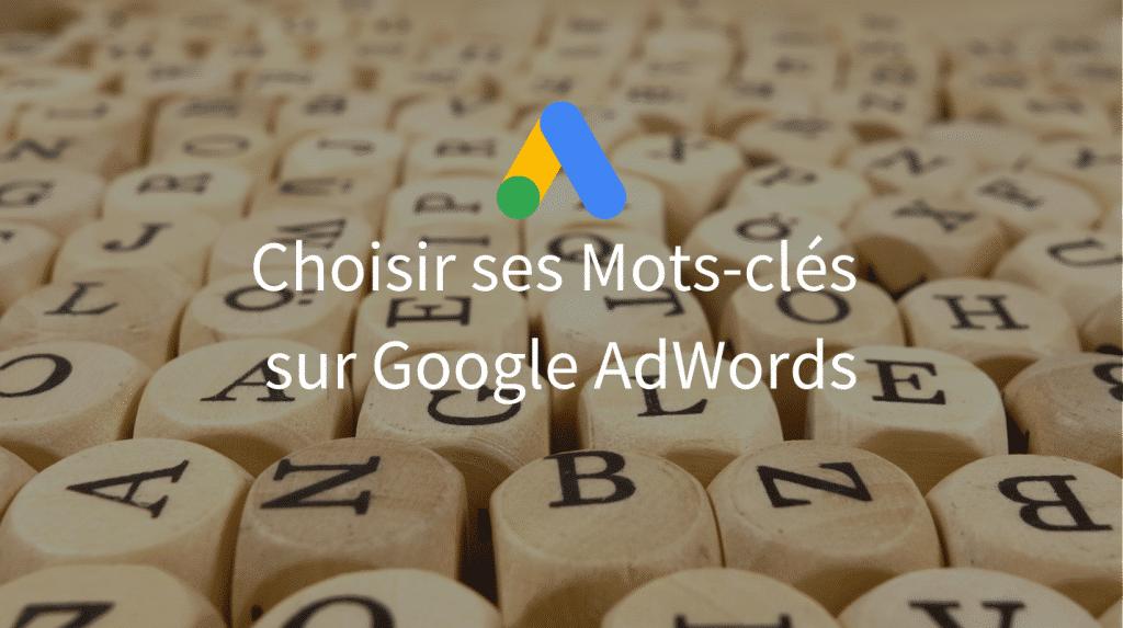 Mots-clés AdWords