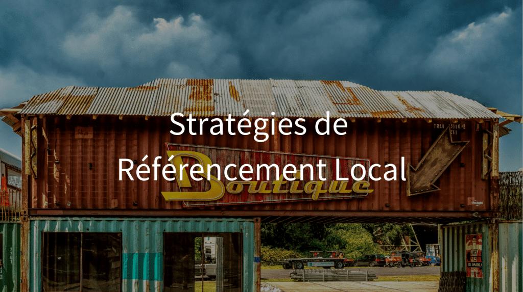 Stratégies de référencement local