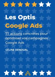 Les Optis Google Ads - couverture